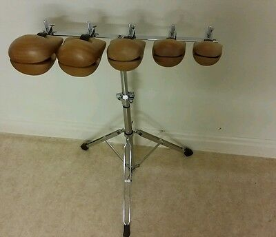 Temple Blocks AND Percussion  Plus stand