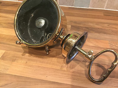 "Original Brass Ships Francis Search Light 7"" Maritime Marine Nautical Boat"