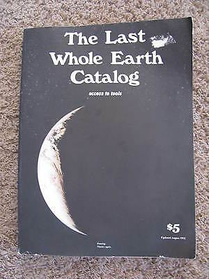 The Last Whole Earth Catalog Updated 1972