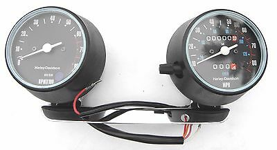 Nos Harley Davidson Sportster Speedometer Tachometer Combo Xl Pn 92058-81A