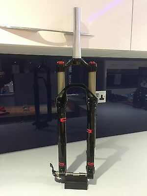 """New BOS Suspension 29er Dizzy 100mm - Tapered, 29"""" XC Fork, Black, 15x100mm"""