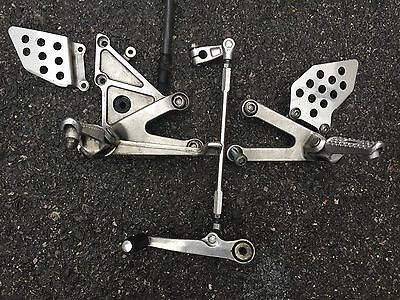 HONDA CBR 600 RR 600RR CBR600RR 05 06 2005 - Rearsets Left Right Pair Foot Pegs