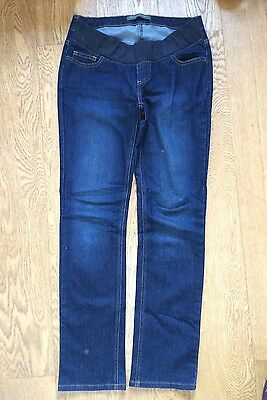 Blooming Marvellous Bootcut Maternity Jeans Size 10 Excellent Condition Indigo