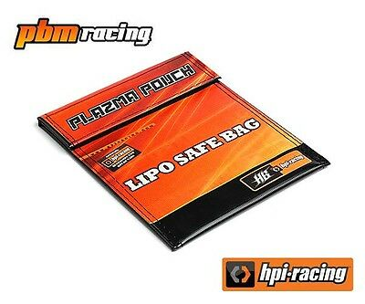 HPI Racing Plazma Pouch Lipo Safe Battery Charge Bag 18x22cms  - 101289