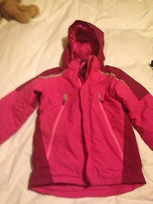 Girls H&M Ski Jacket Salopettes 6-7-8