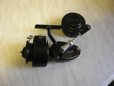 Rare Vintage - Mitchell Half Bail 2nd Version Reel with Spare Spool in a Pot