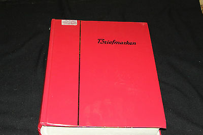 W. GERMANY - 1950's-2000's SUBSTANTIAL FINE USED COLLECTION IN 64 PAGE S/BOOK