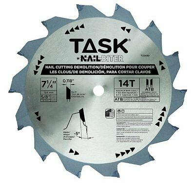 7 1/4 Nail Cutting Demolition Saw Blade With 5/8 Arbor T22430