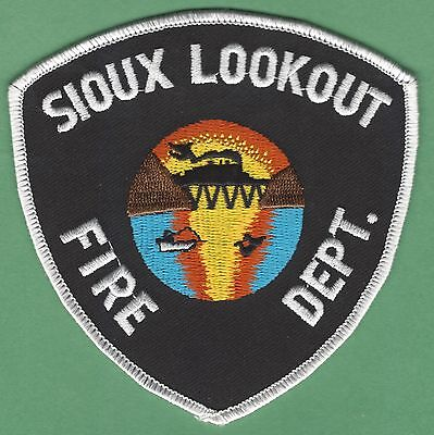 Sioux Lookout Ontario Canada Fire Rescue Patch