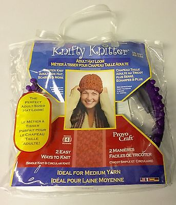 """NEW Knifty Knitter Adult Hat Loom 10.25""""/26cm"""