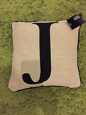 "Bnwt Cushion With Initial ""j"" From Asda"