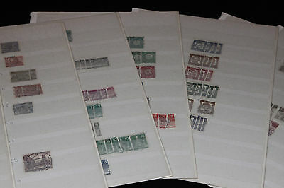 BERLIN - DEFINITIVES COLLECTION ON c.30 PAGES OF STOCKSHEETS - U/MINT & F/USED