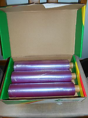 3 Reels Cling Film for Dispencer Wrapmaster 3000 x 30cm wide