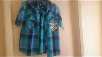 Boys check shirt, age 11/12 from Littlewoods.