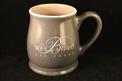 Bellagio Hotel Casino Las Vegas Grey / Light Green Inside Coffee Cup Mug