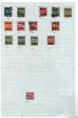 Chinese   hinged stamps lot 7
