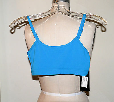 Theatricals Small Adult Camisole Bra Top Shirt Sleeveless Turquoise Blue Aqua