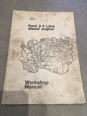 Ford 2.4 Litre Diesel Engine Workshop Manual - July 1971