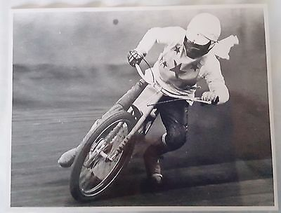 Speedway action photograph of Howard Cole