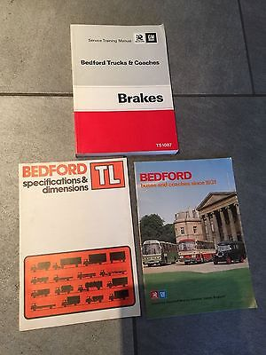 Bedford Trucks & Coaches Service Training Manual  - Brakes - Ts1087 & Others