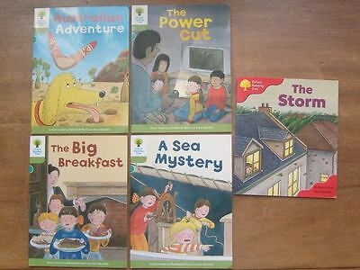 Oxford Reading Tree paperback books. Biff, Chip and Kipper.