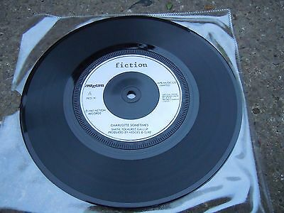 The Cure Charlotte Sometimes 7 inch vinyl VG