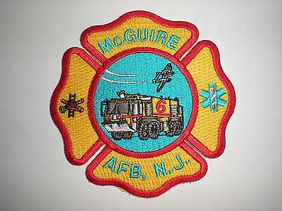 Usaf Mcguire Afb Fire Department Patch