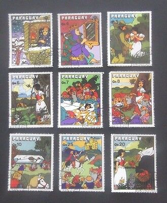 Paraguay-1978-Snow White series-Full set-Used
