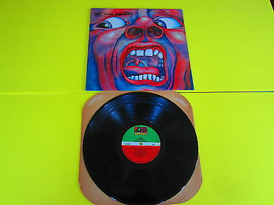 King Crimson:in The Court Of Crimson King :sd 8245 Atlantic Ex++/nm 1976