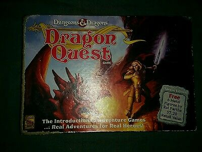 Dungeons & Dragons.  Dragon Quest Board Game.