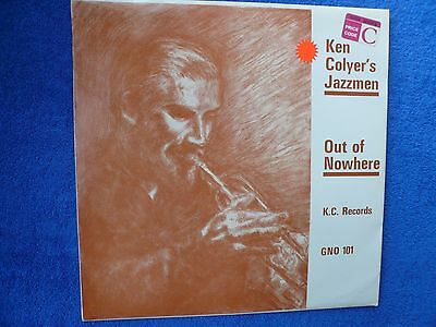 Ken Colyer's Jazzmen 'Out of Nowhere' - LP. Offered from a private collector...