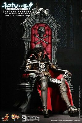 Hot Toys Captain Harlock with throne of Arcadia nuovo Sixth Scale action figure