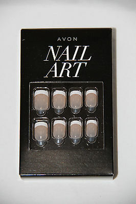 Avon Nail Art Press On Nails French New and Sealed Pack of 24