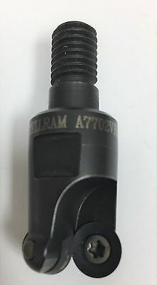 """Kennametal Stellram Milling Cutter Indexable #7702VRD10S.750R 3/4"""" W/ 2 Inserts"""