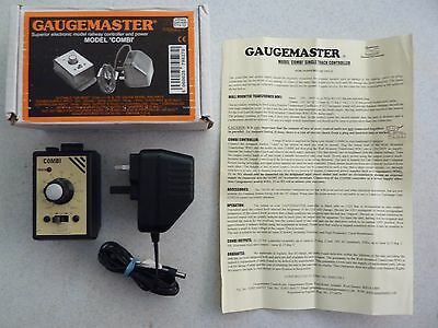 """Gaugemaster  """"Combi""""  Model Railway Controller and Power Supply, Boxed"""