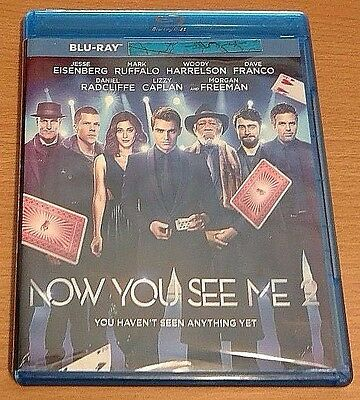 Now You See Me 2 Bluray disc/case/cover only-no digital-2016 Eisenberg Franco PV