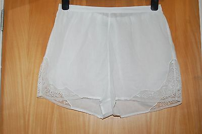 Topshop white shorts with lace size 10