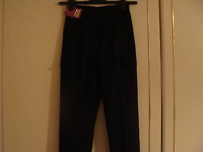 boys new school trousers 24in waist 28in leg