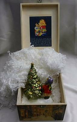 NEW Komozja Mostowski Girl By The Christmas Tree Wooden Box Limited Edition