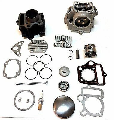 Honda Ct 70 Ct70 Cylinder Piston Rings Gasket Cylinder Head 1969 - 82 91 - 1994