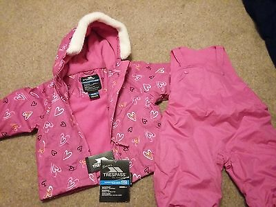 Toddler Ski jacket and salopettes