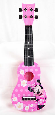 Disney Minnie Mouse Child's Pink 4-string Guitar