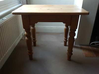 Solid pine table - side table of hall table