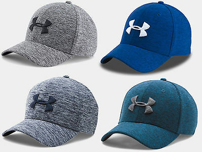 Under Armour Men's UA Twist Tech Closer Stretch Fit Cap Hat Flex M/L or L/XL