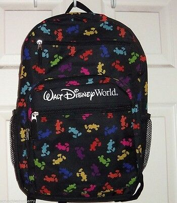 NEW Walt Disney World Parks Mickey Mouse Backpack NWT Sold in Parks