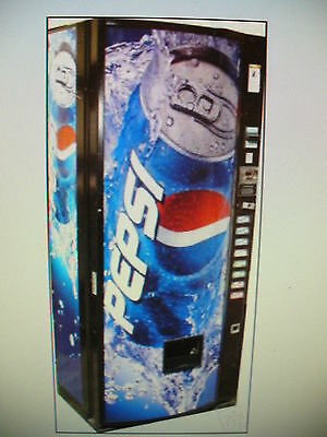 Cold Drink -Coke- Soda Can-Vending Machine-Royal 368-Coke-Pepsi-