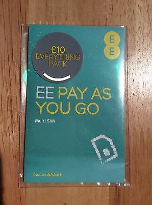 EE Pay As You Go New £10 Free Ship 1st Class Gold Number 079 44 040 009