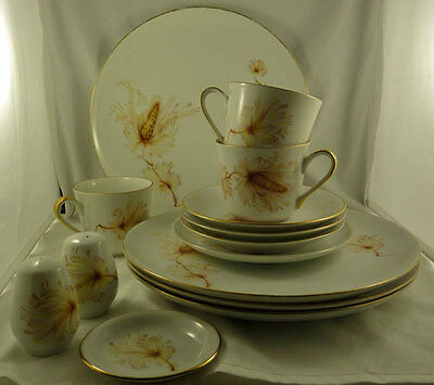 Australian china Golden Wheat, Westminister   15 pieces
