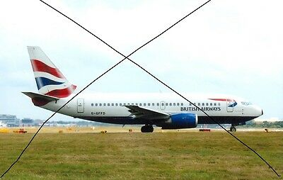 Civil Aircraft Photo, British Airways Photograph Of A Boeing 737 Plane Picture.