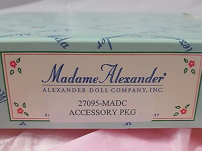 Madame Alexander Travel Accessory Package New in Original Box Silver
